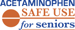 Acetaminophen Safe Use for Seniors Logo