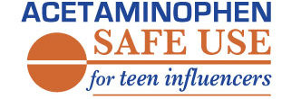 Acetaminophen Safe Use For Teens Logo
