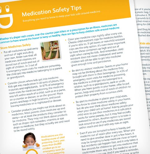 Keep Kids Safe Around Medicine