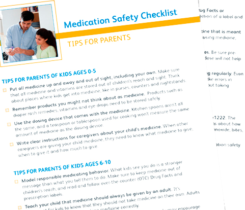 Medicine Safety for Children