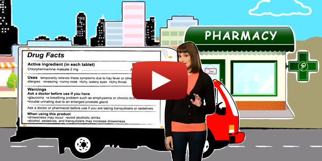 Over the Counter Drug Facts Video