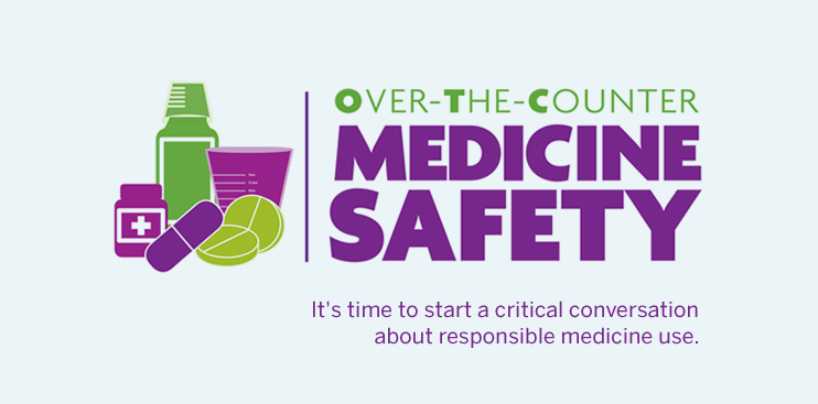 Over the Counter Medicine Safety Logo