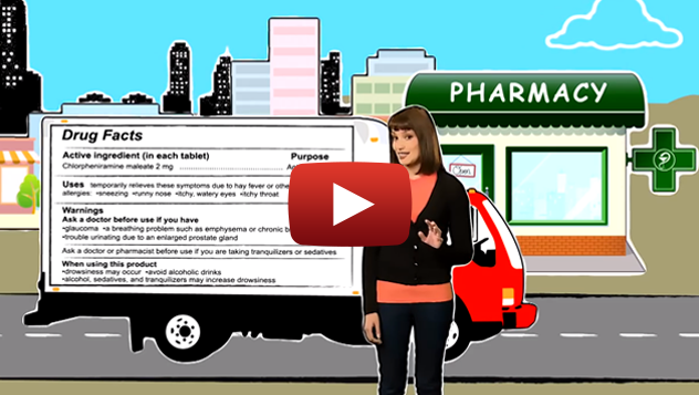 Over the Counter Drug Label Facts Video