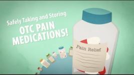 Tomar y guardar analgésicos de venta libre de forma segura